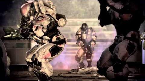 Mass Effect 3 Fall of Earth