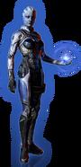 ME3 DLC Из пепла Облик Лиары
