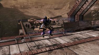 ME3 Турианец-призрак Реактивные ранцы 2