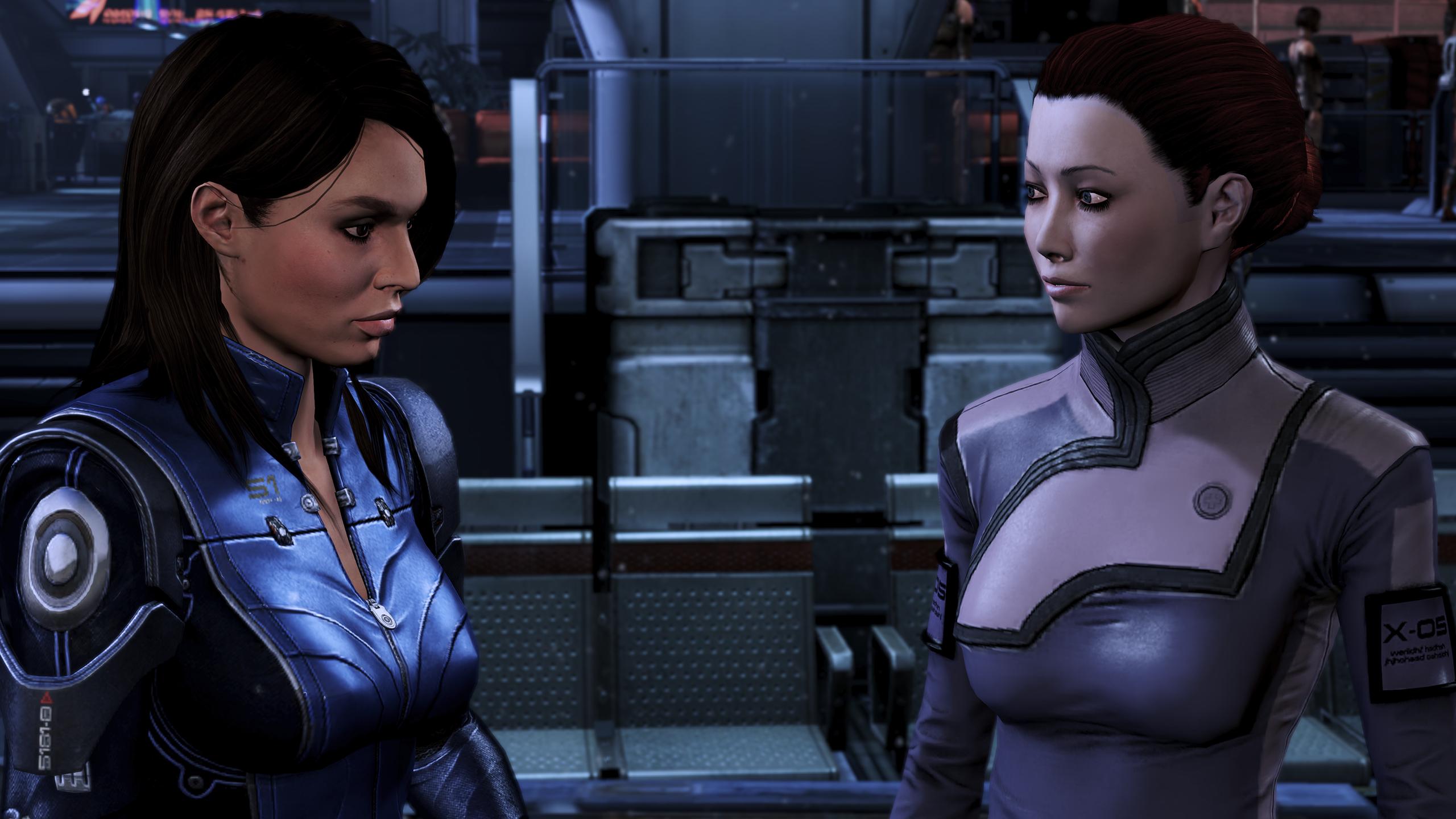 Mass Effect 3 dating Ashley