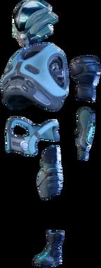 MEA Angaran Guerrilla Armor Set