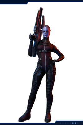 MP Asari Huntress Infiltrator