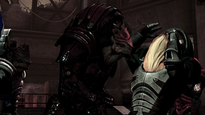 Wrex and body language