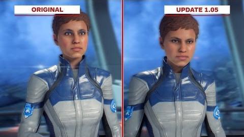 Mass Effect Andromeda - Original vs. Update 1