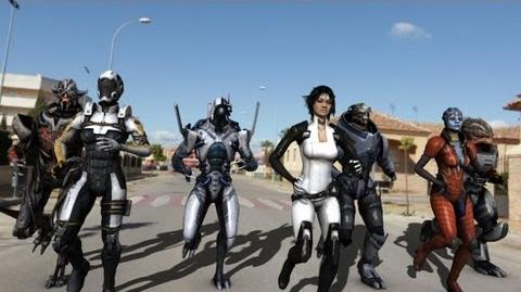 Mass effect Protectors of the Earth in the real world