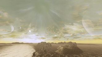 Aeia's moons