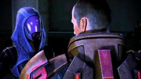 Mass Effect 3 - Les adieux de Tali et Shepard à Londres (dialogues conciliant)
