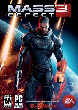 Mass Effect 3 обкладинка