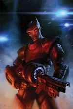 Mass Effect Redemption Issue 2 cover