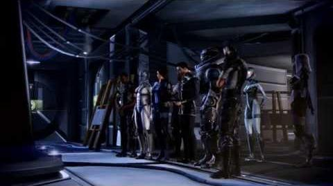 Концовка Мерка Mass Effect 3