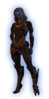 ME2 Tali Basic Outfit
