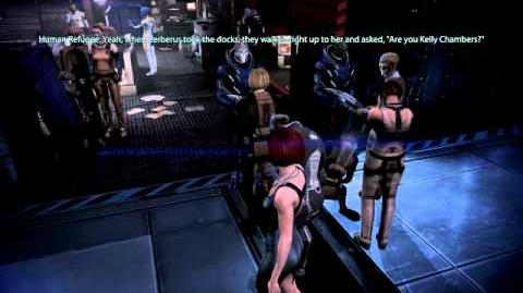 Mass Effect 3 - Kelly Chambers death