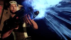 ME 2 Pic Joker als Schützte bei der Flucht von Shepards Squad
