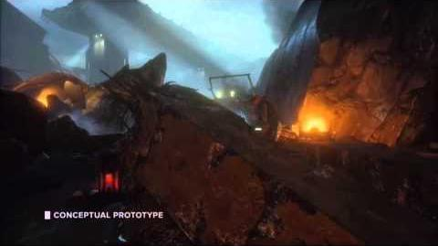 Mass Effect 4 Behind the scenes Concept Prototype feature E3 2014 EA Conference