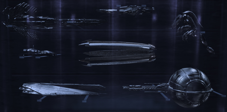 ME3 Model Ships