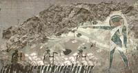 Наскальная живопись азари