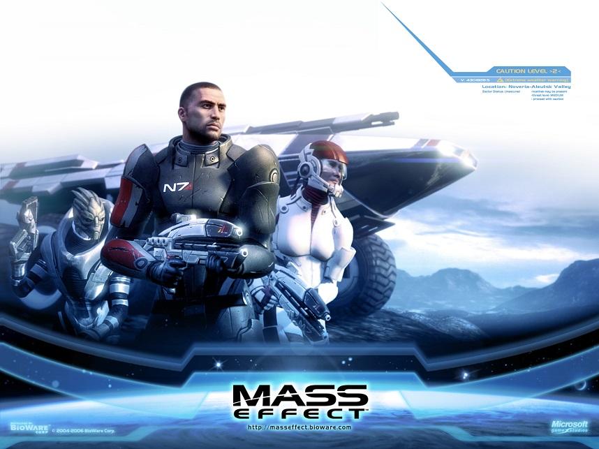 Mass Effect Wallpaper 2
