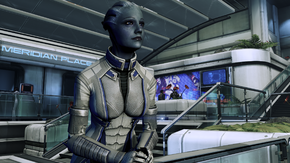 Citadel - liara lock-in
