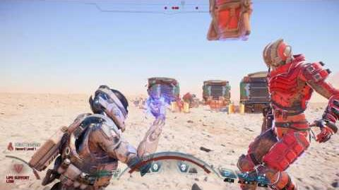 MASS EFFECT Andromeda Kampf Offizielle Gameplay-Reihe - Teil 1