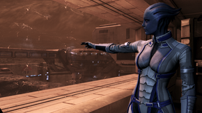 Mars - liara pointing (mission)