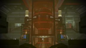 N7 Imminent Ship Crash engine room