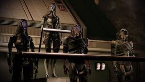 Tali ME2 loyalty-mission