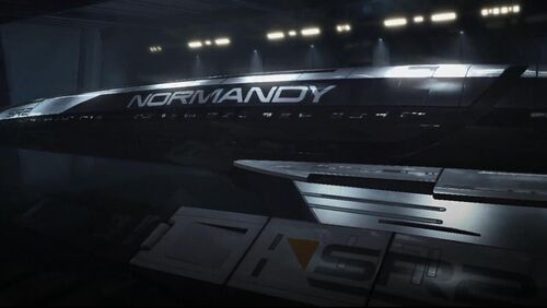 SR2 Normandy-Hull name