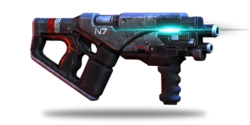 ME3 N7 Hurricane Smg OR
