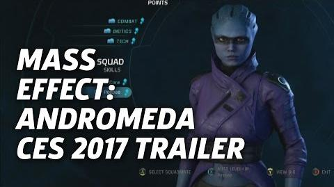 Mass Effect Andromeda - CES 2017 Gameplay Trailer
