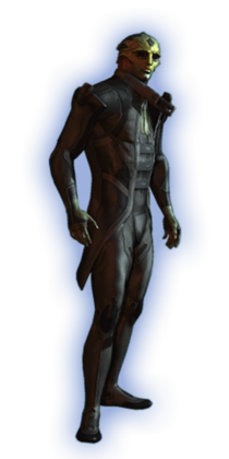 ME2 Thane Basic Outfit