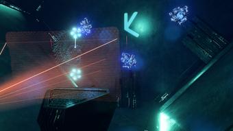 Remnant tiller - glyph and lights