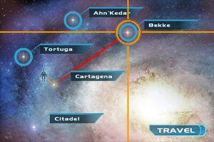 MEG galaxy map