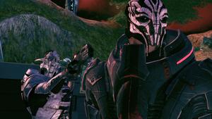 Eden Prime - Saren betrayal