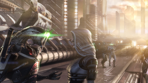 Geth and quarian in synthesis ending