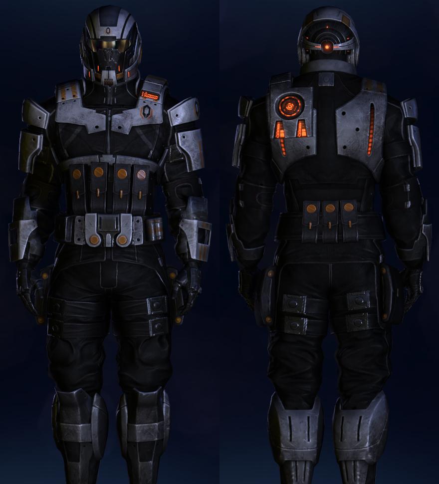 Cerberus Ajax Armor | Mass Effect Wiki | FANDOM powered by ...