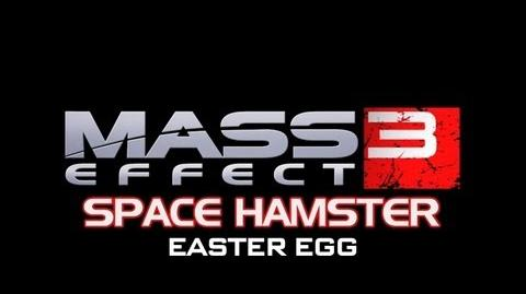 Mass Effect 3 Space Hamster Easter Egg