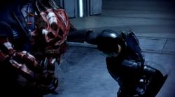Shepard vs Shadow Broker
