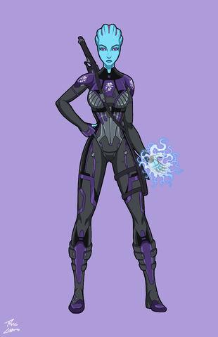 Iyra Aldonia | Mass Effect Fan Fiction Wiki | FANDOM powered