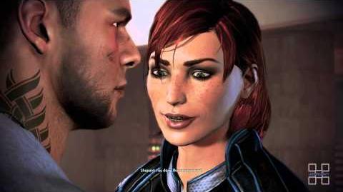 James Romance and Pushups (Mass Effect 3 Citadel DLC)