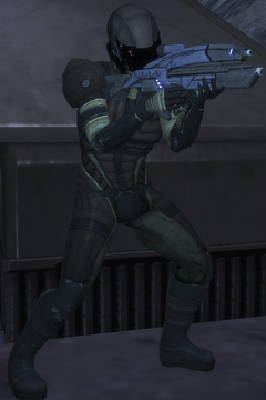 Batarian Rocket Trooper