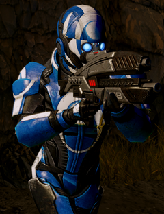 Blue Suns Trooper