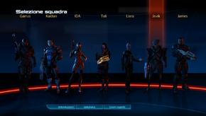 ME3 squad selection a