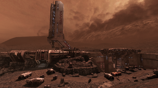 Mars outpost 2186