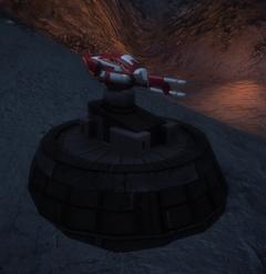 Heavy turret