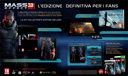 N7 Collector's Edition Contents