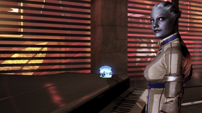 Liara at the piano