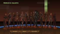ME2 squad selection
