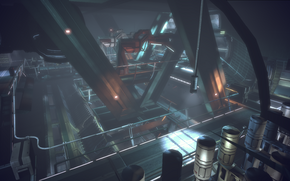 Noveria-Rift Station-Containment lab-Birds eye view