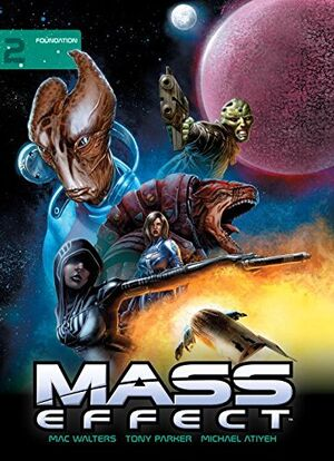 Mass Effect Library Edition Volume 2.