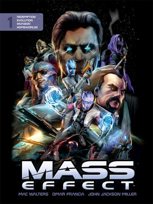 Mass Effect Library Edition Cover
